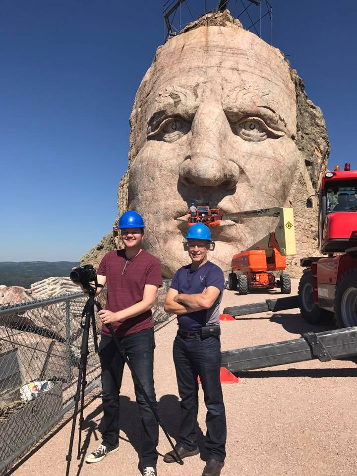 Our crew at the Crazy Horse Monument